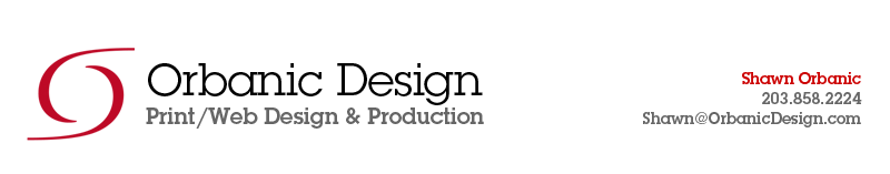Orbanic Design - Print/Web Design & Production